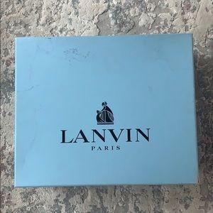 LANVIN leather shoes